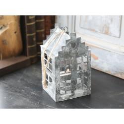 Lighthouse w.heart antique zinc