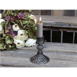 Candle stick w. diamond cut