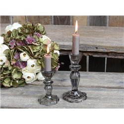 Candlestick w. lace edge
