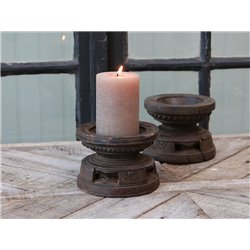 Grimaud old Candlestick f pillar candles