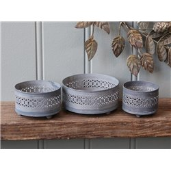 CandleTray set of 3
