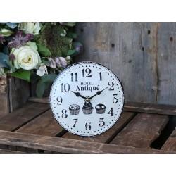 Zegarek Stołowy Chic Antique Biały