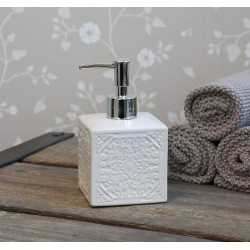 Soap dispenser w. pattern