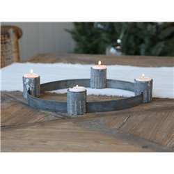 Advent candleholder (X19) for tealights