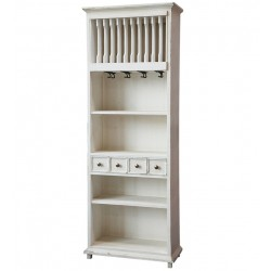 Shelf w drawers and ranging plates
