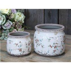 Tulle Flower pot w. flowers