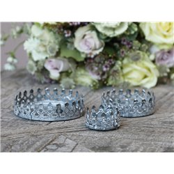 Candle Plate set of 3