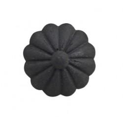 Gałka Meblowa Kwiatek Chic Antique Czarna
