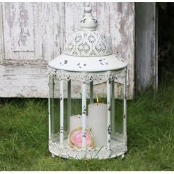 Lantern (S19) with lace edge