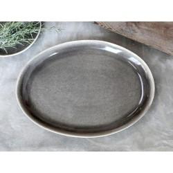 Calais Plate oval