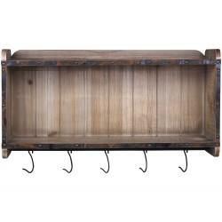 Shelf w. hooks