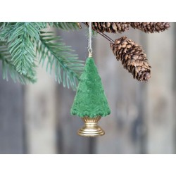 Christmas tree (X20) on foot  f. hanging