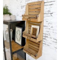 Półki Ścienne Chic Antique Drewniane