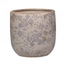 Melun Flower Pot w. french patten