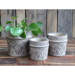 ƒvron Flowerpot w. pattern