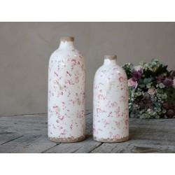 Cannes Vase w. floral motif