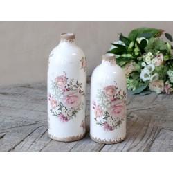 Naves Vase w. rose pattern