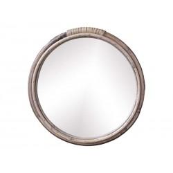 Mirror w. bamboo frame