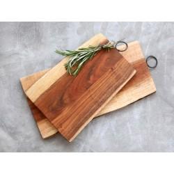 Tapas board w. iron handle