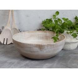 Laon Salad Bowl light mango wood