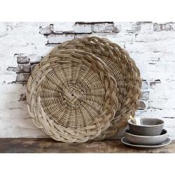 Trays braided set of 2