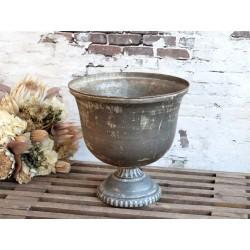 Ołonka Puchar Chic Antique Metalowa