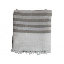 Throw w. stripes