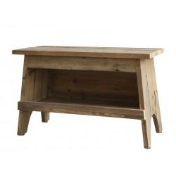 Bench w. shelf