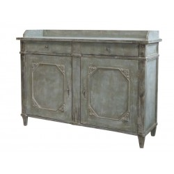 Chest of drawers w. 2 doors & 2 drawers