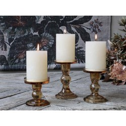 Candlestick for pillar candles
