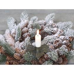 Candleholder w. spear