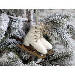 Ice Skates for hanging set of 2