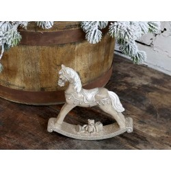 Rocking Horse w. gifts