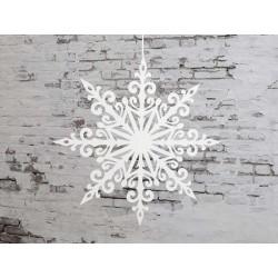 Vintage Paper Snowflake