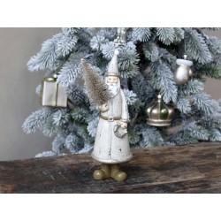Santa w. Christmas tree