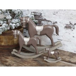 Rocking Horse w. glitter