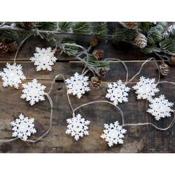 String Light w. snowflakes
