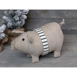 Pig w. ribbon