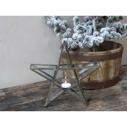 Star for tealights