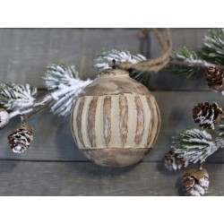 Christmas Bauble w. pattern