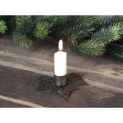 Candlestick leaf f. short dinner candles