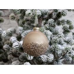 Christmas Bauble w. glitter