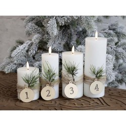 Advent Numbers for hanging set of 4
