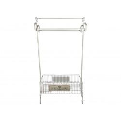 Tower rack w.basket H10/L57/W26 cm