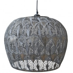 Vire old Lamp w. pattern