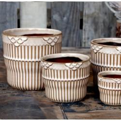 Ceramiczna Osłonka Ozdobna Chic Antique Nimes A