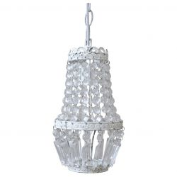 Lampa z Kryształkami Vintage Chic