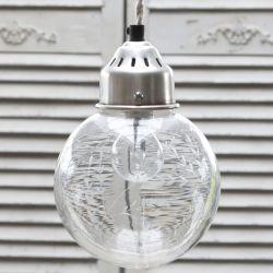 Szklana Lampa Chic Antique Kula 3