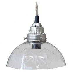 Szklana Lampa Chic Antique Gwiazdki A