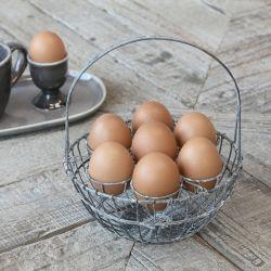 Basket f. 7 eggs